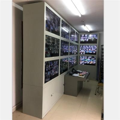 深圳建文中学监控室定制电视墙